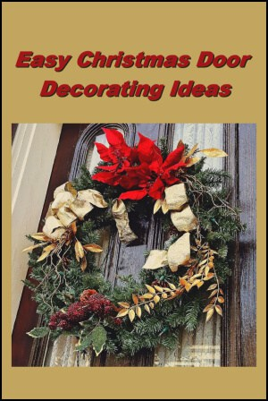 Easy christmas door decorating ideas christmas decorating fun