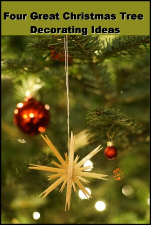 Four Great Christmas Tree Decorating Ideas Christmas