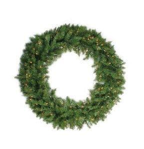 36 inch Pre Lit Christmas Wreath