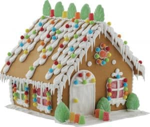 Build It Yourself Gingerbread House Decorating Kit