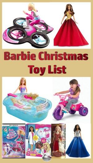 Barbie Christmas Toy List