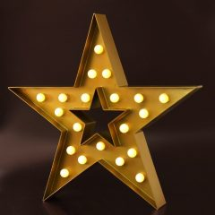 Battery Operated Christmas Star