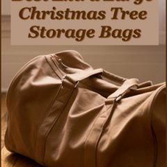 best extra large christmas tree storage bags