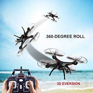 Cheerwing Syma 6 Axis Gyro RC Headless Quadcopter Drone UFO