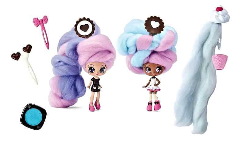 Candylocks dolls hairstyles