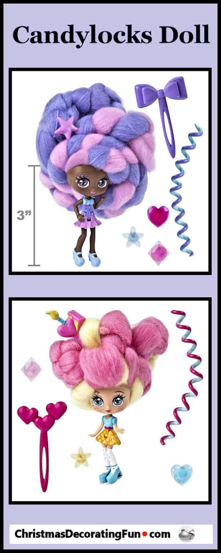Candylocks scented dolls
