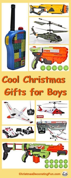 Cool Christmas Gifts for Boys
