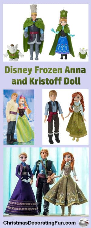 Disney Frozen Anna and Kristoff Doll