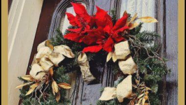 Easy Christmas Door Decorating Ideas