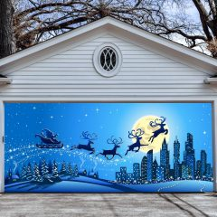 Garage Door Christmas Decorations