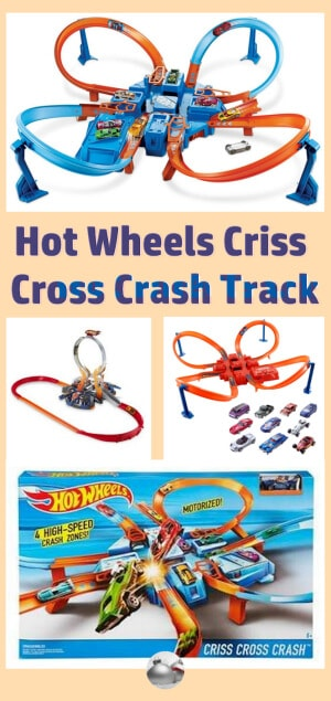 Hot Wheels Criss Cross Crash Track