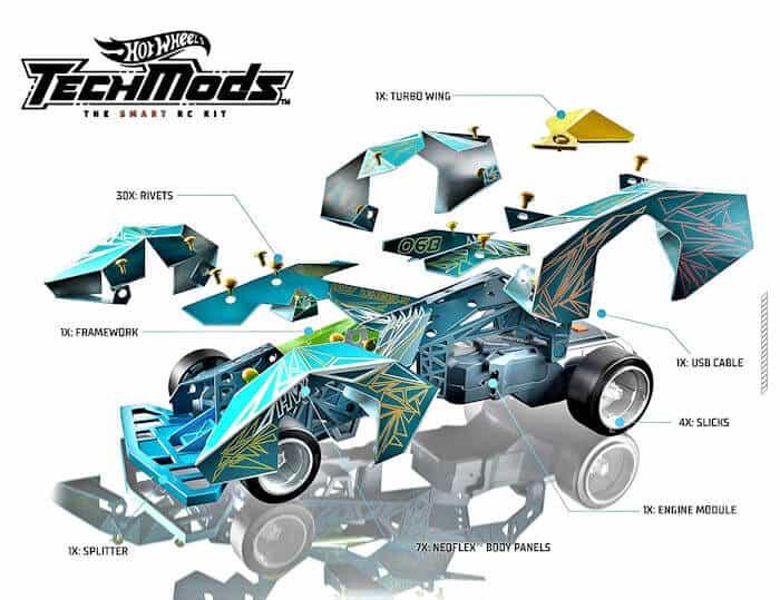 Hot Wheels TechMods Layout