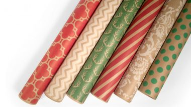 Kraft Christmas Wrapping Paper