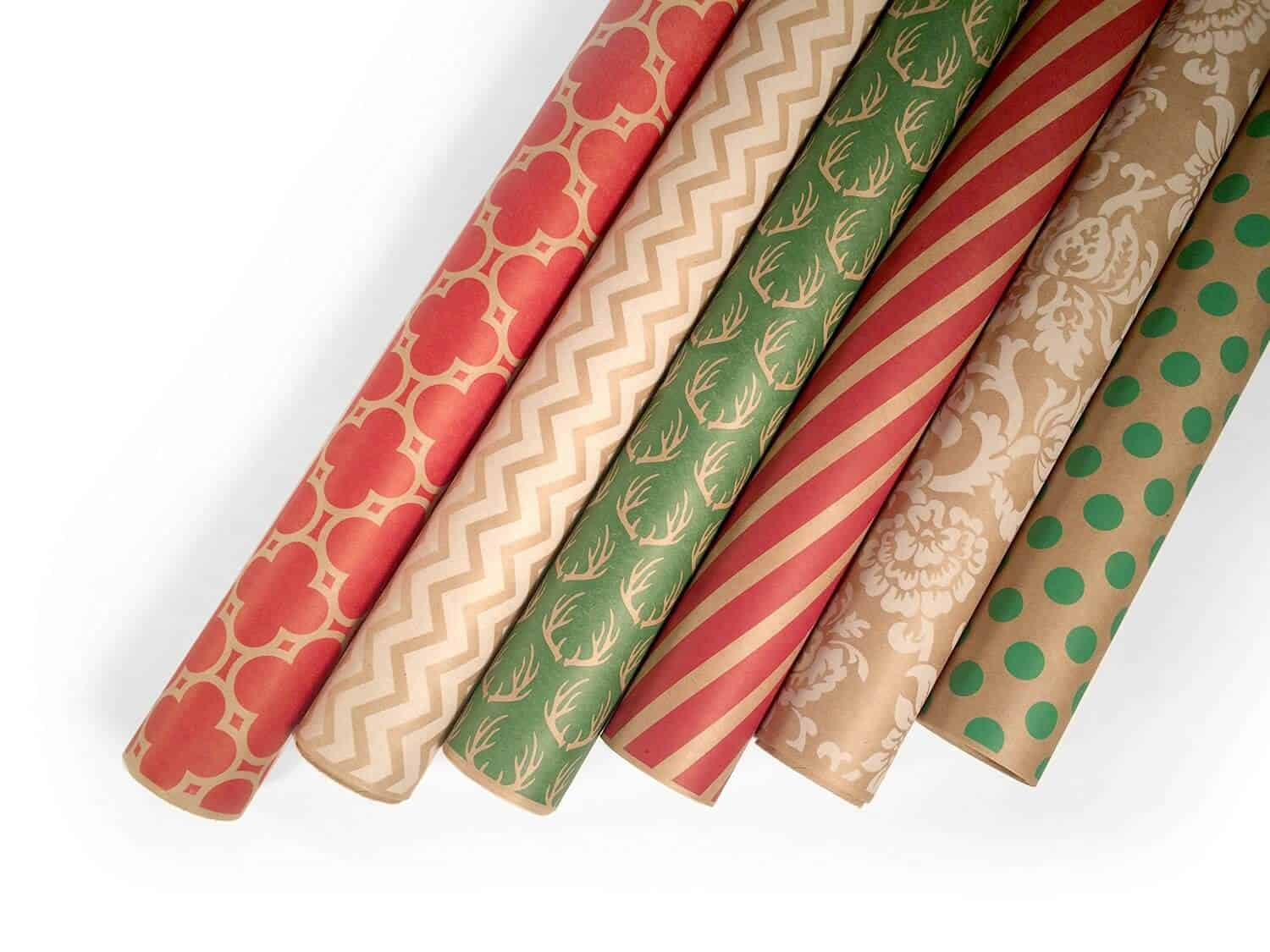 Kraft Christmas Wrapping Paper Christmas Decorating Fun