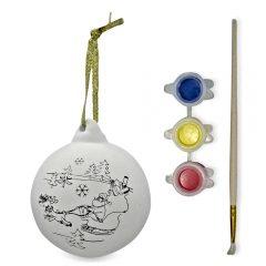 Make A Santa Ornament