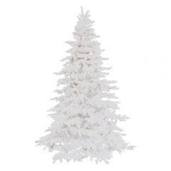 White Flocked Christmas Trees