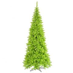lime green Christmas tree