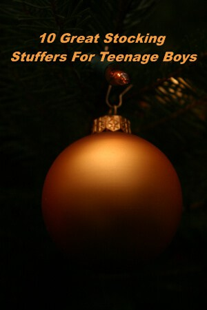 10 great stocking stuffers for teenage boys